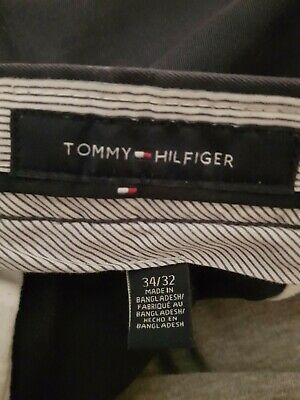Mens Tommy Hilfiger Pants Chinos Blue Size W34 L32