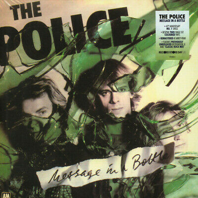"""SINGLE THE POLICE Message in a bottle 2 x 7"""" New sealed RSD 2019"""