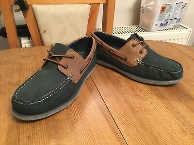 Mens Maine New England Boat/Deck Shoes Size 7 Worn Once & In Great Condition
