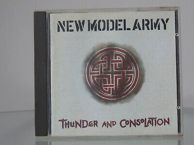 CD NEW MODEL ARMY - THUNDER AND CONSOLATION - guter Zustand