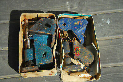 A Pair of Sash Clamp Heads Ends