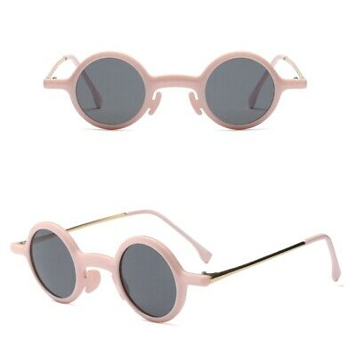 Mens Womens Small Round Style Sunglasses Various Colours UV400 BNWT