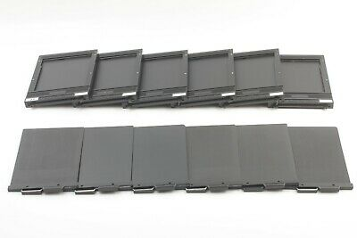【EXC+++++】 TOYO 4x5 Cut Film Holder Large Format 6 pieces from JAPAN #278