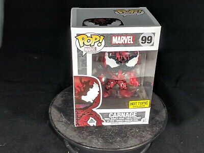 Funko Pop Marvel #99 Carnage Hot Topic Exclusive