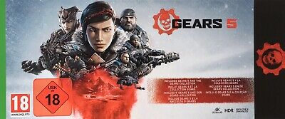 Gears 5 Ultimate Edition Xbox 1 X Keycode+Gears of war 1-4 Key + Gold + Gamepass