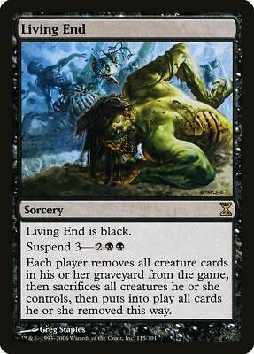 MTG - Fin Vivante French Time Spiral Living End