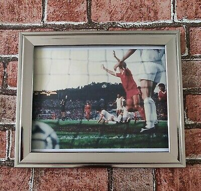 Liverpool FC 1984 European Cup Final Phil Neal Goal Football Picture Poster...