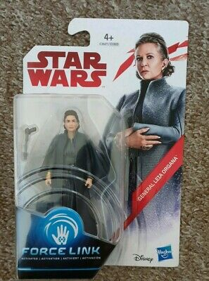 Star Wars General Leia Organa Force Link Action Figure