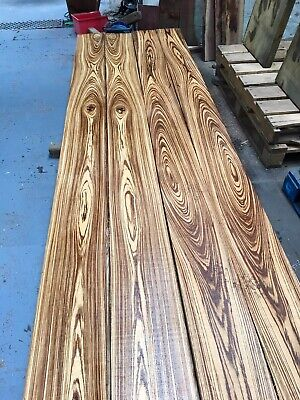 Zebrano 25mm Lumber/Boards - /Exotic Wood/Exotic Hardwoods 132 x 5""