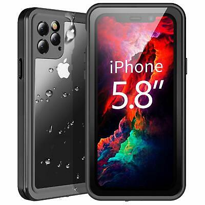Waterproof iPhone 11 XI Pro Case,Built-in Screen Rugged Heavy Duty Full Body Sho