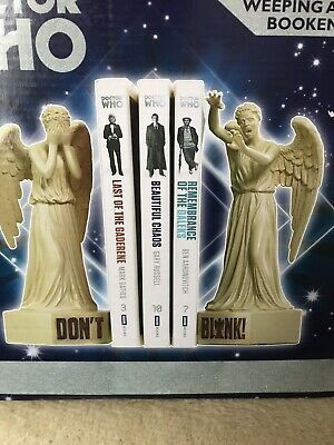 ❤️❤️ Dr Who Weeping Angel Book Ends New In Box ❤️❤️