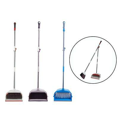 Dustpan Broom Brush Set Dust Pan Long Handle Sweeping Home Floor Clean Tools