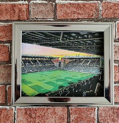 Hibernian fc Easter Road Poster Print Football Picture
