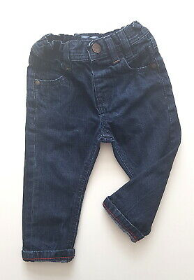 12-18 month boys jeans Next dark stylish comfy trousers