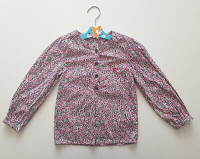 4 year Joules girls top blouse long sleeves quality nice and comfy shirt