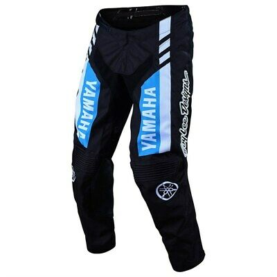 New 2020 Yamaha Rs1 Gp Pant By Troy Lee Designs® - Black **Choose Size