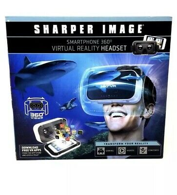 Sharper Image Smartphone 360 Degrees Virtual Reality Headset Transform Reality