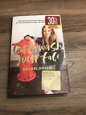 Girl, Wash Your Face By Rachel Hollis- Barnes and Noble Exclusive