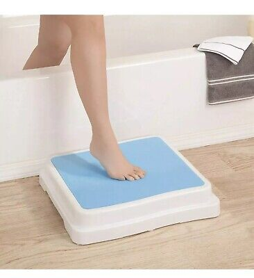 New Bath Step Stool Stack-Able Safety Aid Disability Non Slip Shower Step