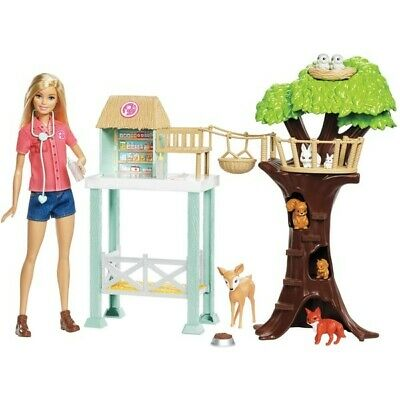 New Kids Barbie Animal Rescuer Doll and Playset