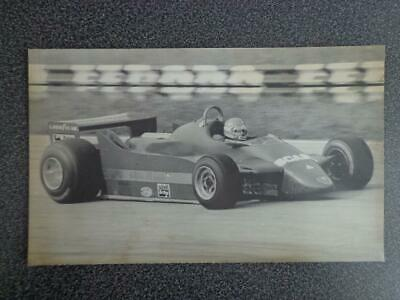 Photo de presse - F1 - Alfa - Giacomelli