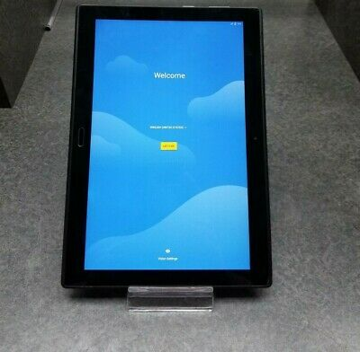 """Lenovo Moto Tab TB-X704A 10.1"""" 32GB AT&T WiFi 4G LTE Android Tablet Clean IMEI"""