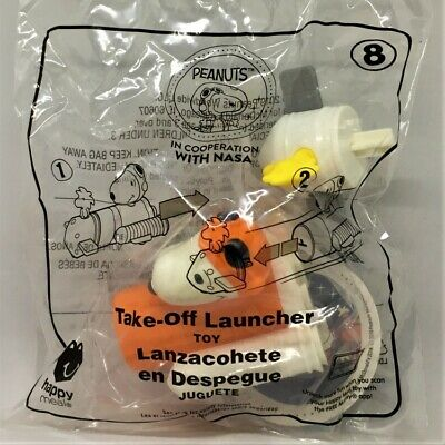 ☆ Snoopy With Nasa Take-Off Launcher ☆ New 2019 McDonald's Happy Meal Toy #8