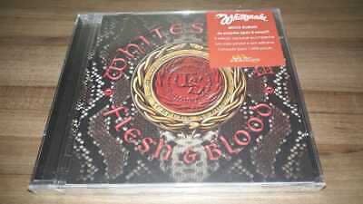 Flesh E Blood by Whitesnake (Cd, with poster and sticker, Brazil) New