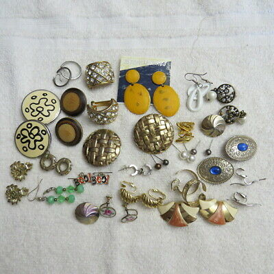 Huge Lot of Matched Earrings over 125 pair