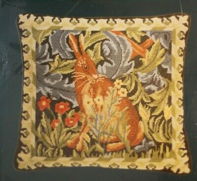 Stitchery Tapestry Needlepoint Kit The Hare William Morris Similar Beth Russell
