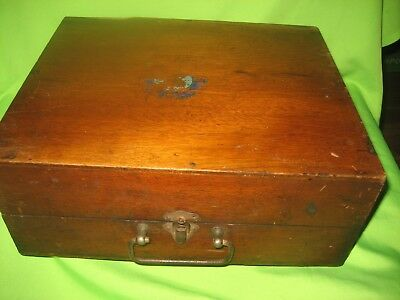 Antique /Vintage  WOODEN PRINTING BOX Duplicator