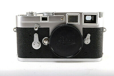 Leica M3 w body cap & Leather Case -(MInt-) Single Stroke 1962