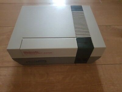 Nintendo Entertainment System Grey Console  Nes Region Modded