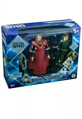 Doctor Dr Who The Daemons Figure Set New And Sealed 3Rd Dr !