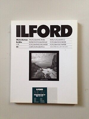 Ilford MGIV Multigrade IV RC Deluxe Pearl 8x10 Photographic Paper 25 sheets