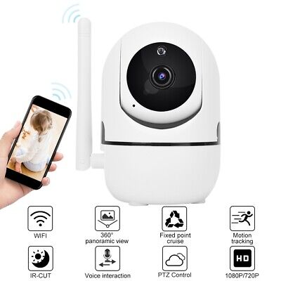 720P / 1080P Full HD IP Kamera Wireless WIFI PTZ Kamera Auto Track