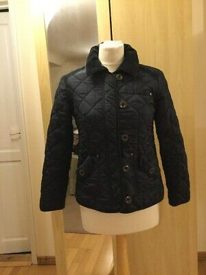 Girls Quilted Padded Jacket Size 11-12 Yrs Old By Next