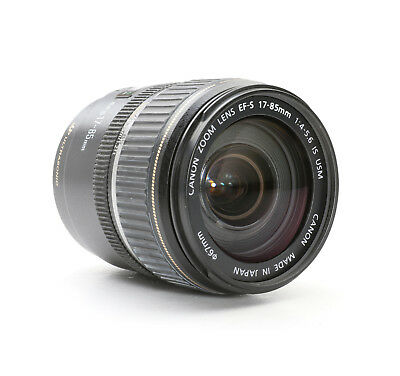 Canon EF-S 17-85 mm 4-5.6 IS USM + Blende und AF Defekt (222642)
