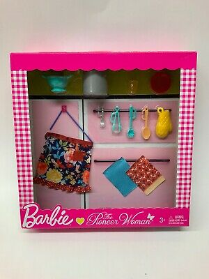 Barbie The Pioneer Woman Ree Drummond Cooking Accessory Set Pasta NEW Lot-T251