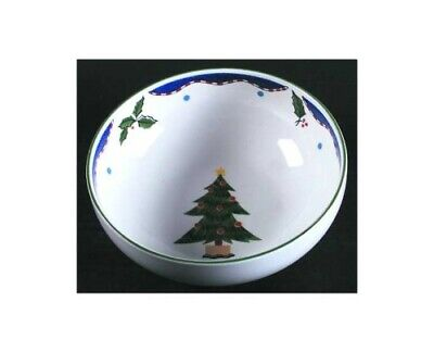 Christmas Glow by Mikasa Soup Cereal Bowl Fashion Plate