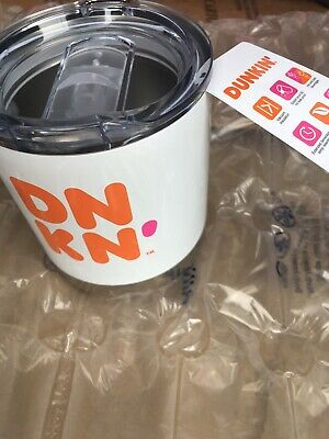 2019 New Dunkin Limited Edition Stainless Steel Tumbler Travel Mig 12oz Hot/Cold