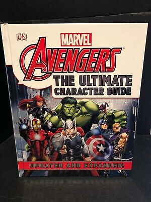 Marvel Avengers - The Ultimate Character Guide (Hardcover) NEW