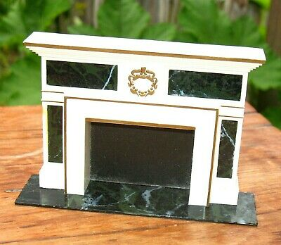 Ideal Petite Princess DOLLHOUSE FIREPLACE Mid Century Furniture Vintage 1964