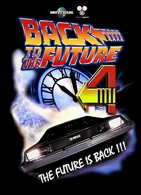 Back To The Future Part 4 CGI Feature Film Christopher Lloyd Michael J Fox
