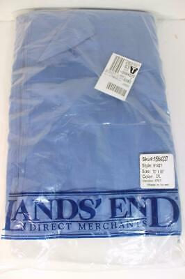 "Retired Land's End Direct Merchants Tablecloth Cornflower Blue 70""x90"" RARE NEW!"