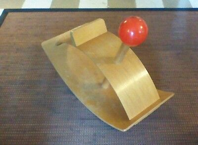 """Creative Playthings Wooden """"Rocking Beauty"""" Hobby Horse Vintage 60s"""