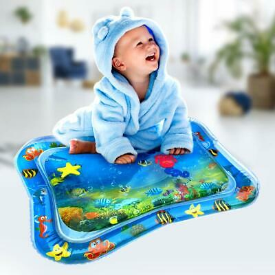 Tummy Time Baby Inflatable Water Play Mat Newborn Infant Toy 0-12 Month Toddler
