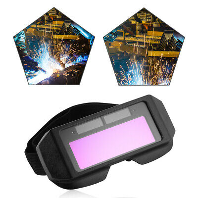 Auto Solar Darkening LCD Welding Glasses Mask Goggles Helmet Eyes 2-Way Wearing