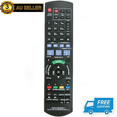 New N2QAYB000611 Remote for Panasonic Blu-Ray Disc Player DMR-PWT500 DMRPWT500GL