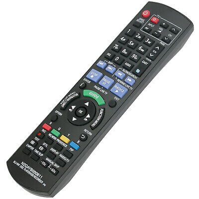 New Remote Control N2QAYB000611 for Panasonic HDD Recorder DMRPWT500 DMRPWT500GL